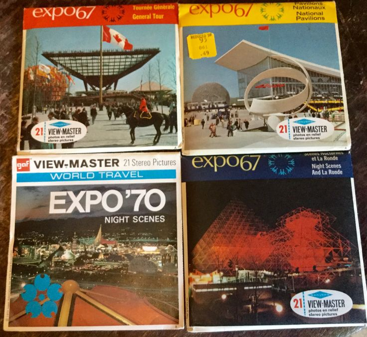 View Master Expo 67 et 70