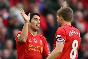 Liverpool Captain Steven Gerrard Gets Emotional Saying Goodbye to Luis Suarez | Bleacher Report