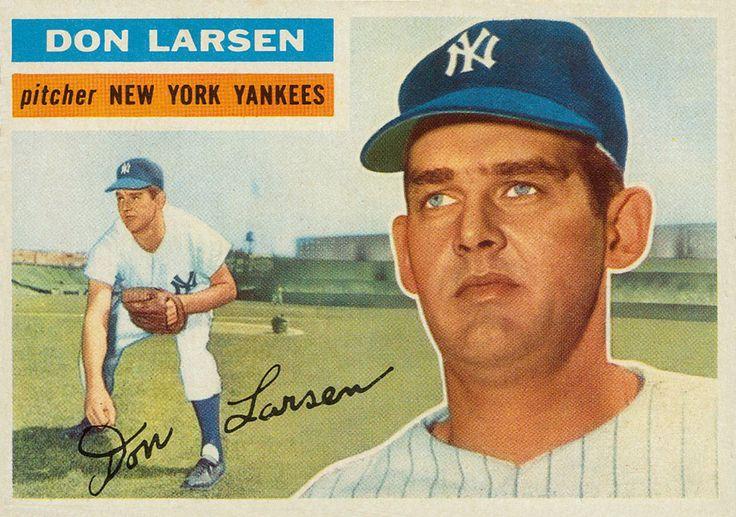 1956 Topps Don Larsen