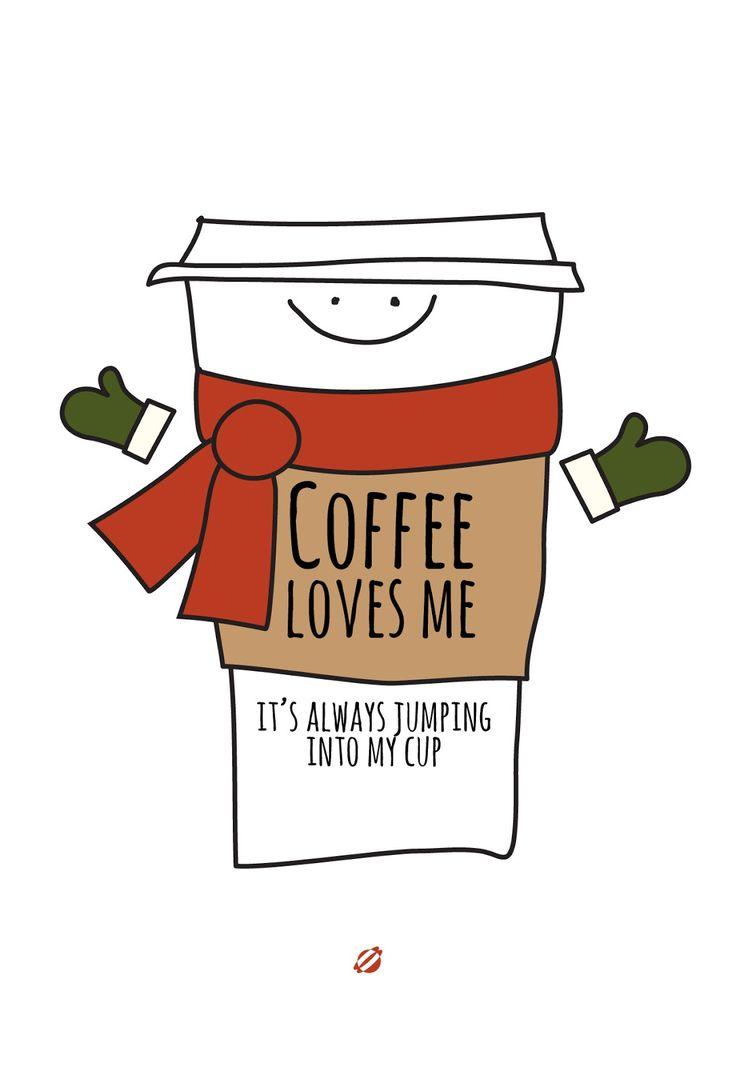 #LostBumblebee 2013 #FreePrintable Coffee Loves Me  #christmas Coffee Love.