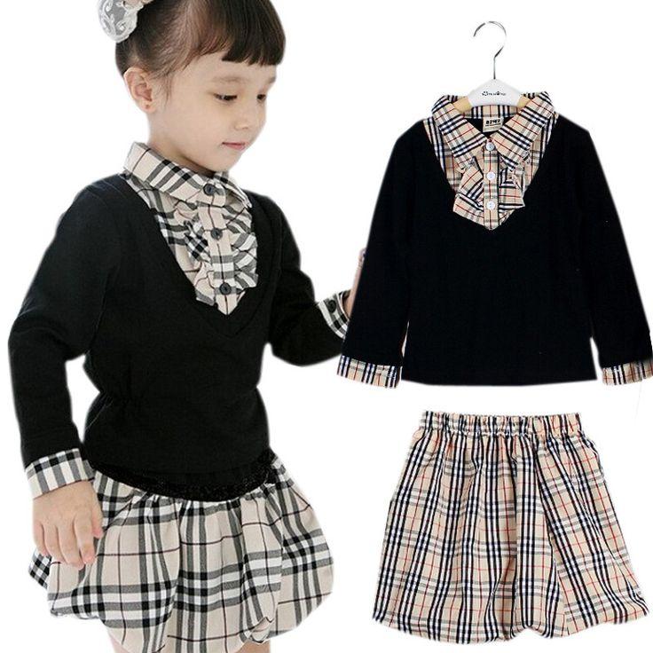 9 besten Moda niños / niñas Bilder auf Pinterest | Kinderkleidung ...