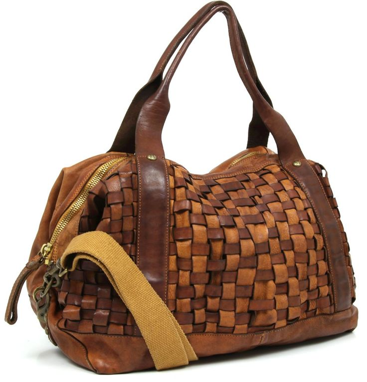 Campomaggi weekender leather 45 cm c1195invl designer - Wardow handtaschen ...