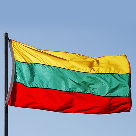 Lithuania Flag - colors meaning history of Lithuania Flag