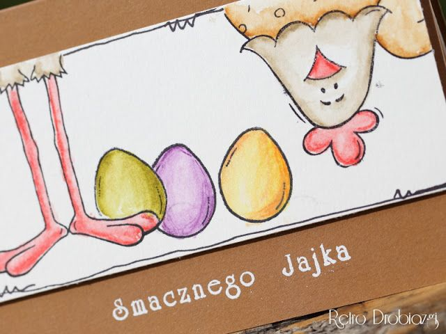 - Retro Drobiazgi - Pracownia Rękodzieła - decoupage i scrapbooking: Wielkanocne stemplowanie.