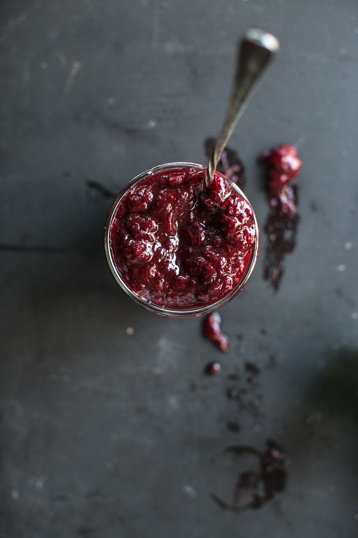 Rhubarb Strawberry Balsamic Jam