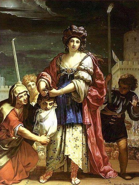 Elisabetta Sirani, Giuditta con la testa d'Oloferne, 1658