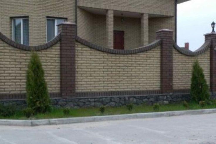 забор кирпичный оштукатуренный: 8 тыс изображений найдено в Яндекс.Картинках
