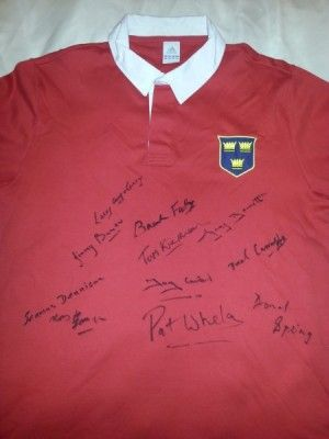 Munster rugby shirt 1978 Added on 03 Jul 2013 at 08:47 by @munster_jerseys