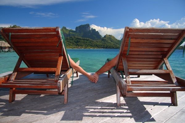 Relax with a loved one and enjoy a beautiful ocean view together. Enter to win a $500 travelocity gift card and make this dream vacation real with CapFed®!