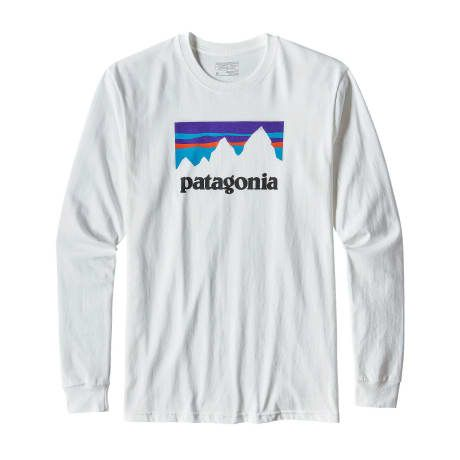 Trouva: Patagonia Shop Sticker Long Sleeve Tee