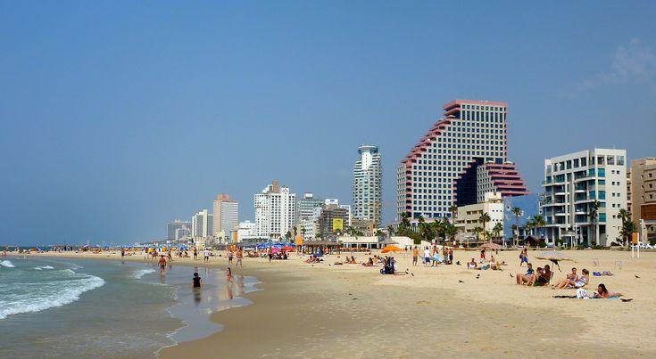 On the beach - (Tel-Aviv)