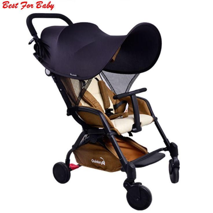 Baby Stroller Rag Shade Blocks UV UVB Sun Rays Cover Baby Car Awning Rain Tent Multifunctional Stroller Protection Accessory