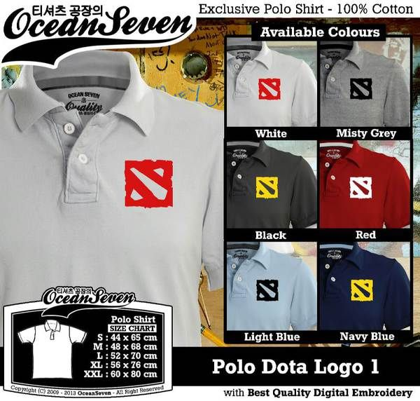 Polo Shirt - Polo Dota Logo 1