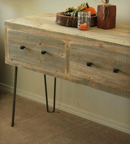 Reclaimed Wood TV Stand   Home Furniture   J W Atlas Wood Company   Scoutmob Shoppe   Product Detail