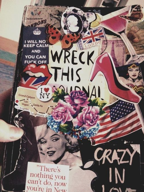 i think this is going to be my favorite cover when i get my own wreck this journal