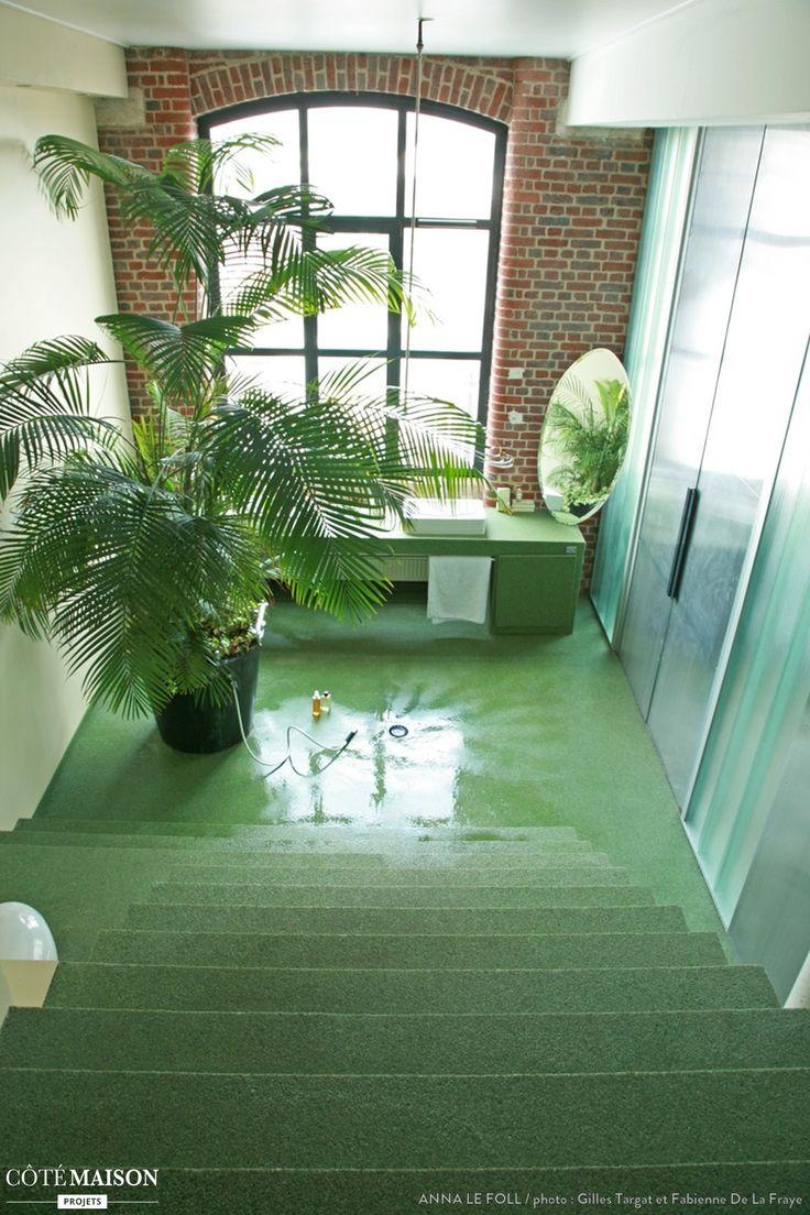 d co salle de bain jungle