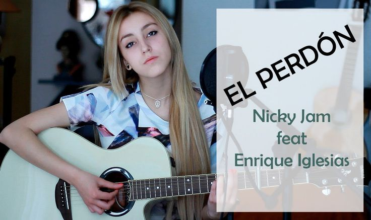 El perdón- Nicky Jam ft. Enrique Iglesias (Cover by Xandra Garsem)