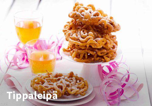 Tippaleipä, Resepti: Valio #kauppahalli24 #resepti #vappu #vappuruoka #valio #jälkiruoka #tippaleipä