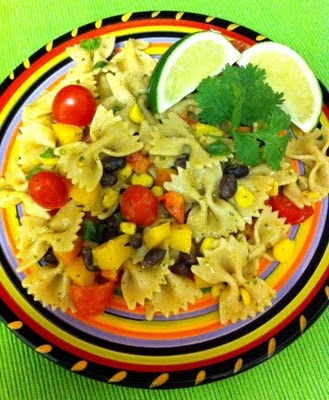 Southwest pasta salad.... perfect for spring/summer