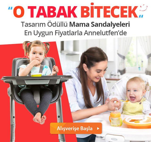 Tasarım Ödüllü Mama Sandalyeleri Annelutfen'de!