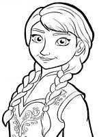 do wydruku kolorowanki Kraina Lodu Frozen Disney - nr obrazka 33