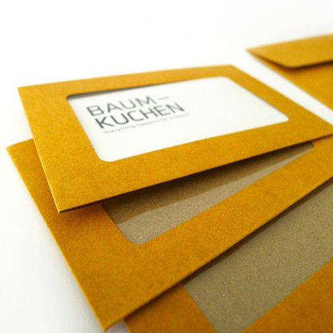 Small Kraft Envelope with Window