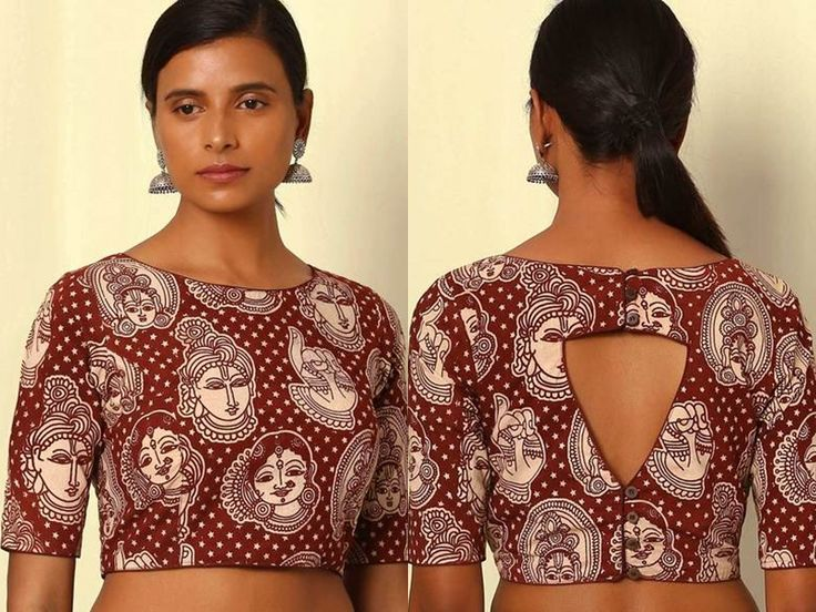 Images Of Simple Blouse Back Neck Designs 106