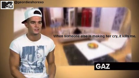 Gaz is so cute. Love Chaz!