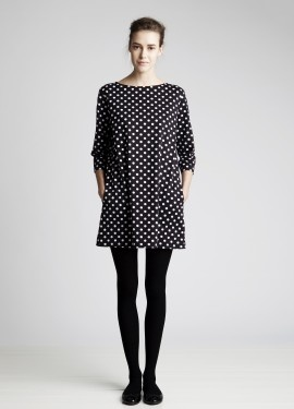 """Petja""-dress by Marimekko. Because I need polka dots, always."