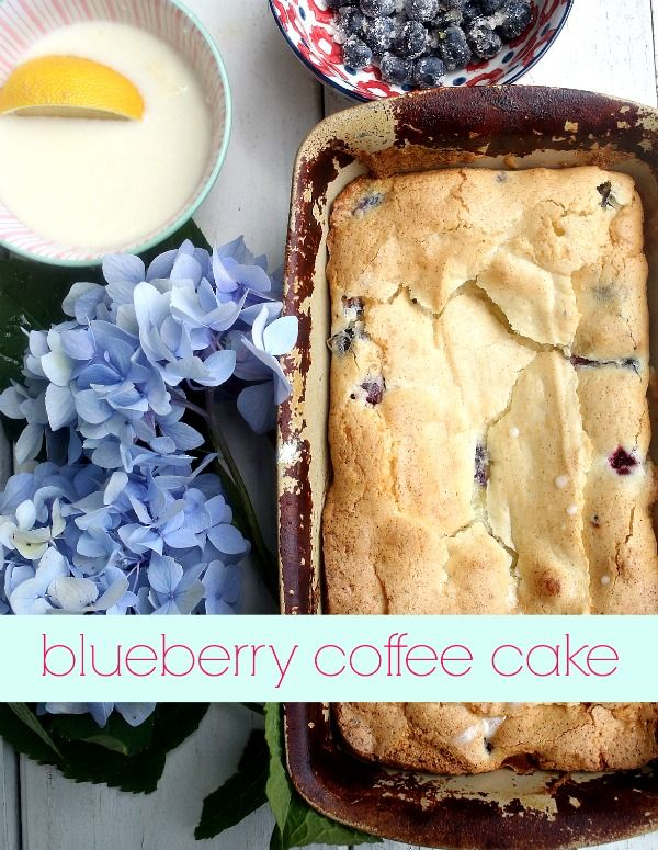 Coffee Cakes, Blueberries Cakes, Blueberries Coff Cakes, Coffee Cake ...