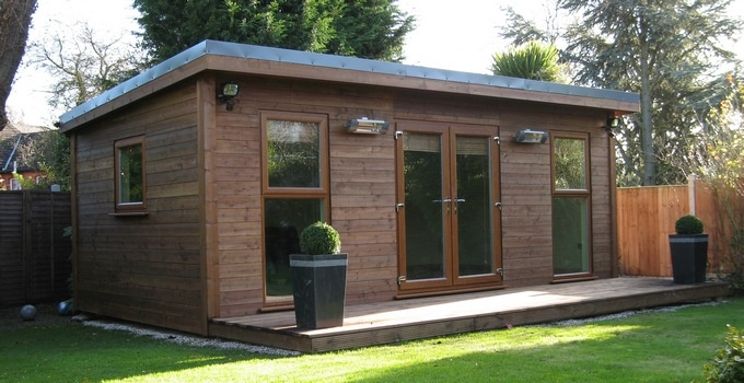 The Mono garden room range is our single pitched