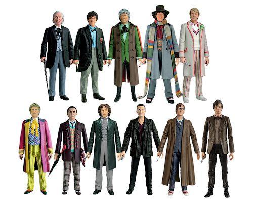 11 докторов набор фигурок