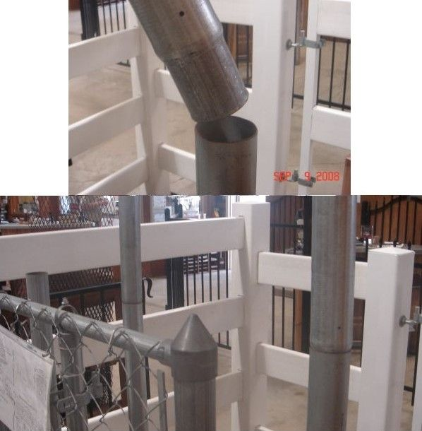 2' Fence Post Extension $10