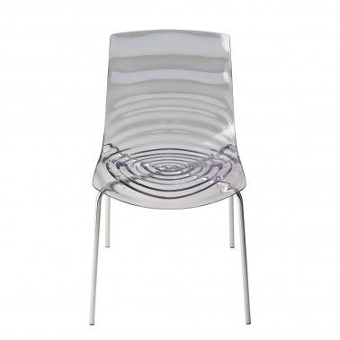 This Zebra chair will turn a few heads. Its stripe appearance could resemble a zebra pattern or a ripple in water. Available in two colours this seat will be sure to turn a few heads at your next dinner party. #zebrachair