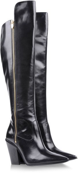 Black Over The Knee Boots they were made for walking. ...