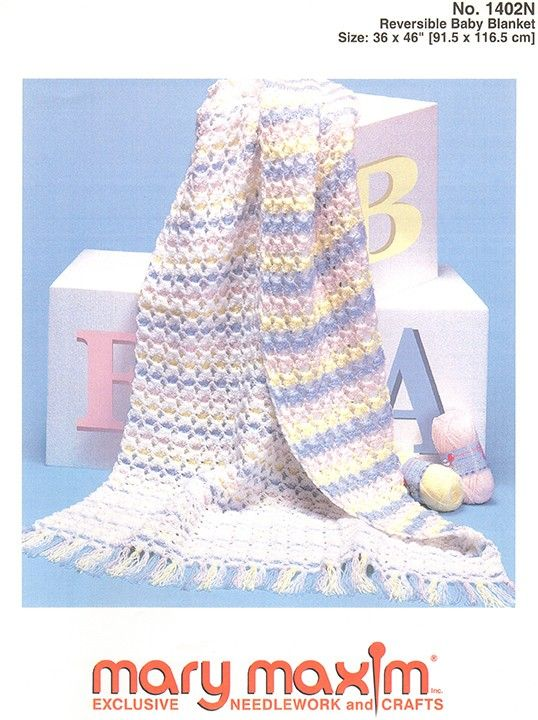 Crochet This Baby Blanket Using Mary Maxim Dk Sport Weight