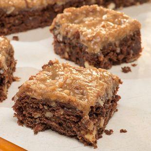 Duncan Hines German Chocolate Cake Caramel Bars