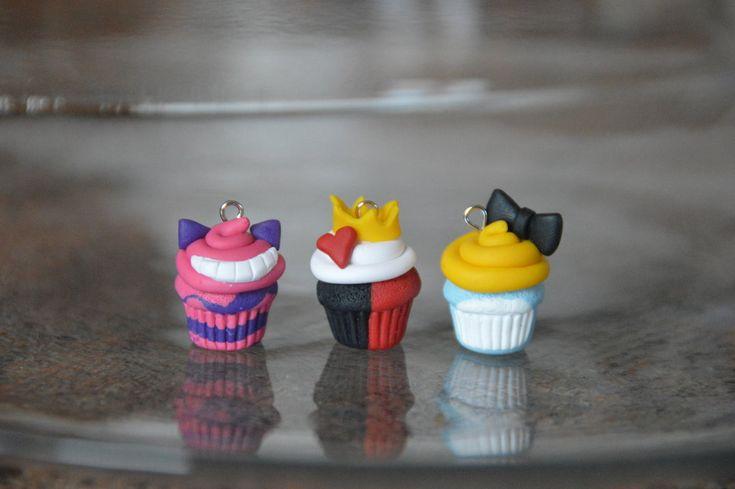 Disney Inspired Cupcakes - Alice In Wonderland by SmileyHearts.deviantart.com on @deviantART