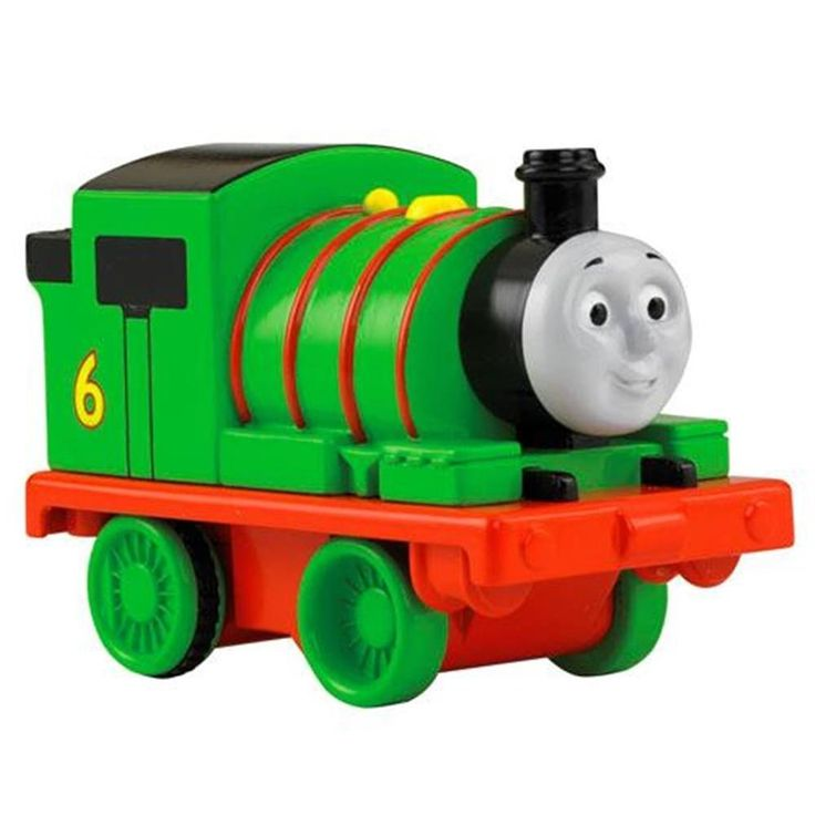 Thomas & Friends Pull 'n Spin Train Engine BCX67 - Choose Thomas or Percy