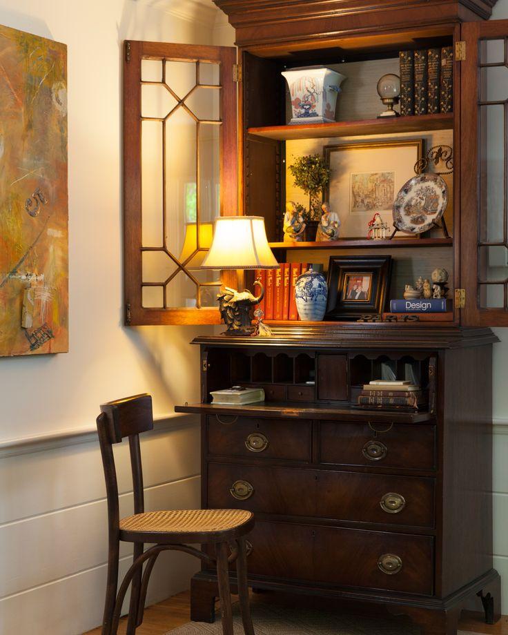 Kim Macumber Interiors : Secretary : Vignette : Cozy Corner :