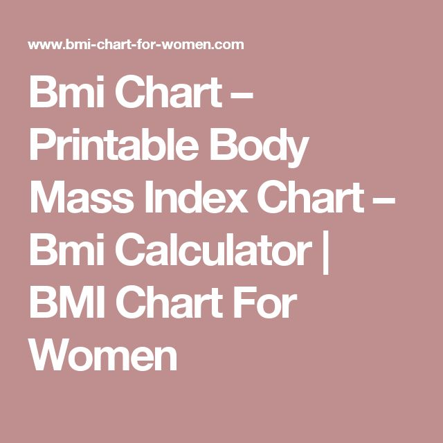 Best 25+ Bmi chart for women ideas on Pinterest Healthy weight - bmi index chart template