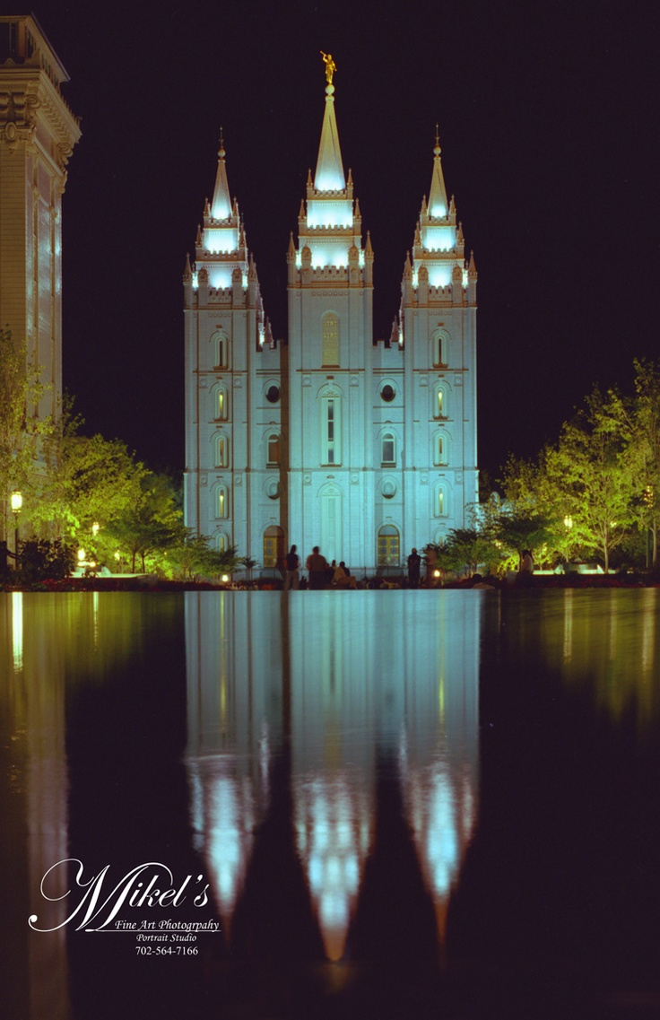 SLC LDS Temple- where we got married for time and all eternity!