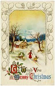Public Domain Vintage Christmas Images Pictures