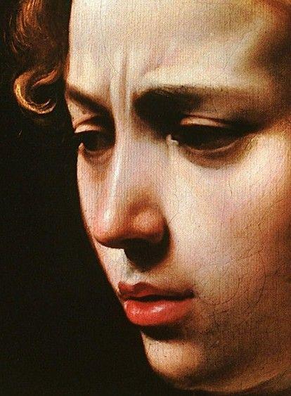 Judith beheading Holofernes [detail] - Caravaggio