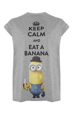 T-shirt met grappige Minion-print