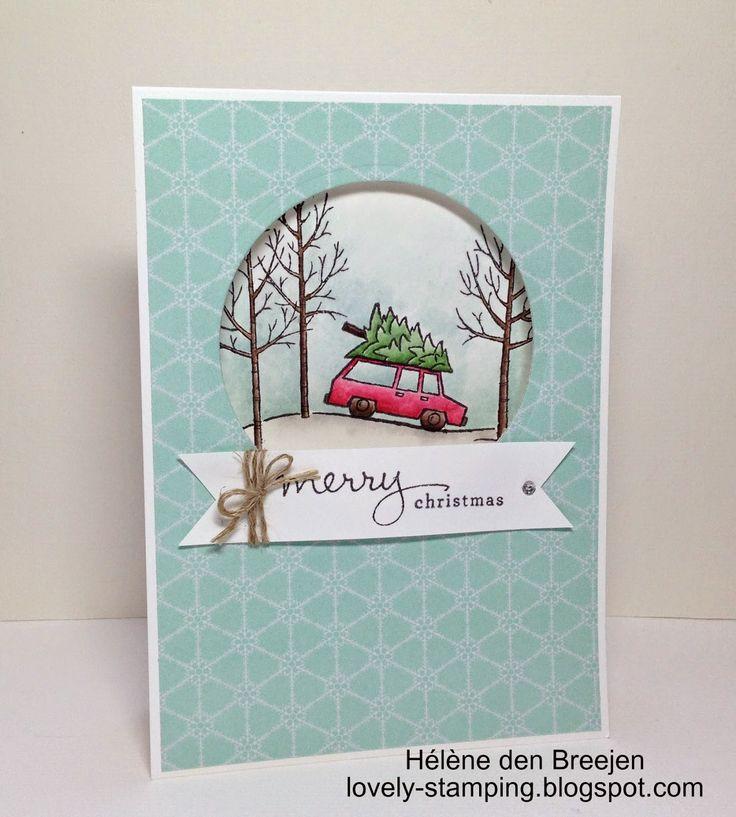 Merry Christmas made by Hélène den Breejen, Onafhankelijk Stampin'Up! demonstratrice, White Christmas, Endless wishes