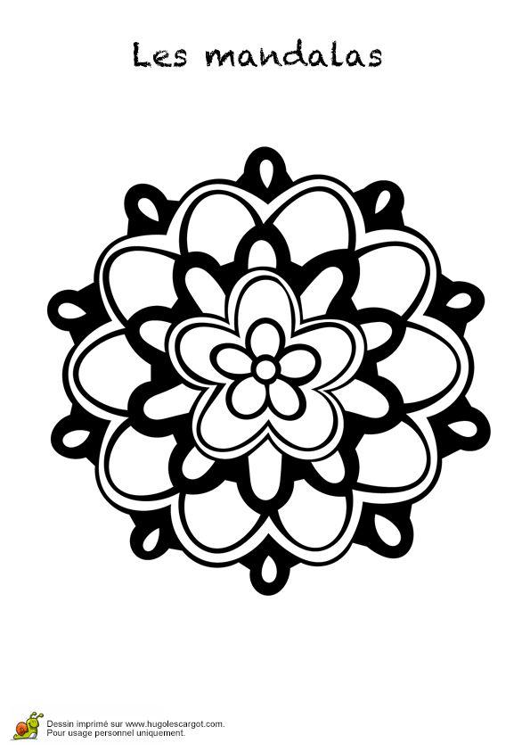 485 best images about coloriages mandala on pinterest - Hugo l escargot mandala ...