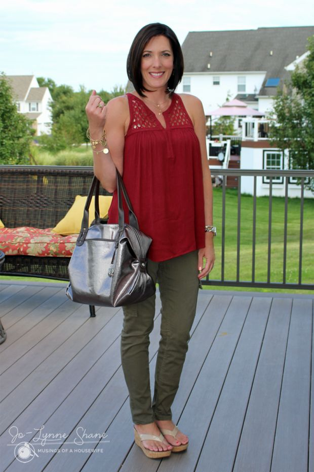 I like the olive green pants.  Always looking for cargo pants that are fitted but not too tight.