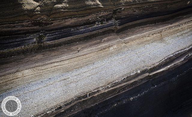 Beautiful rock layers.  www.shotztours.com