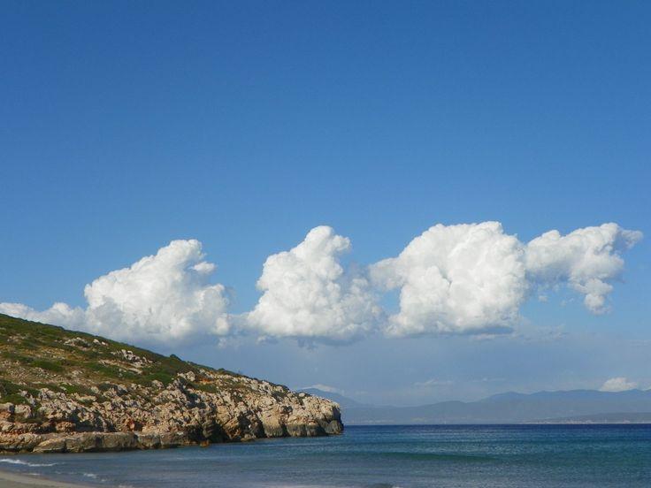 Anche le nuvole in Sardegna sono più belle...  (Sant'Antioco)